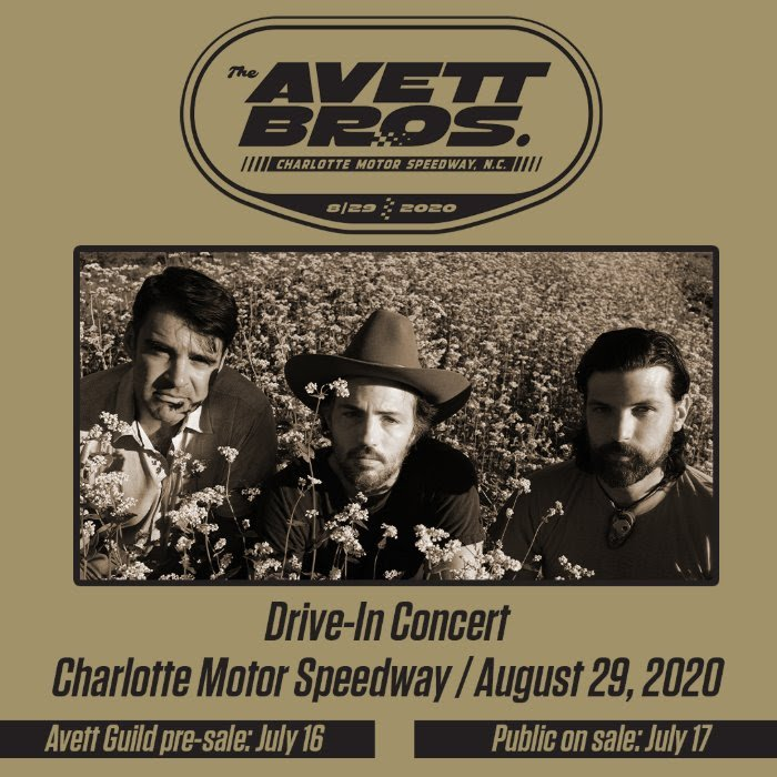 The Avett Brothers To Perform At Charlotte Motor Speedway