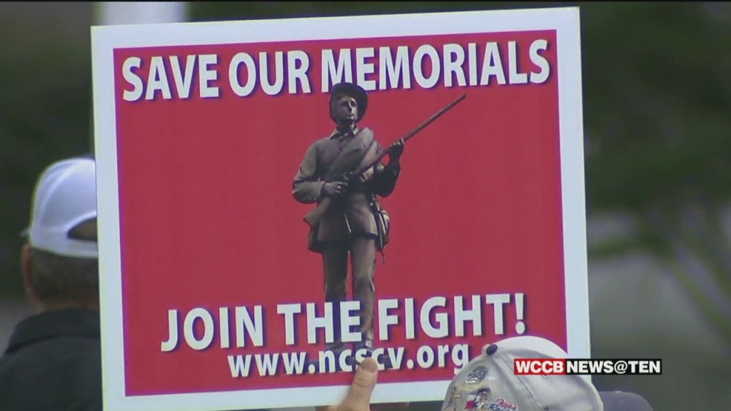 Fight Over Gaston County Confederate Monument
