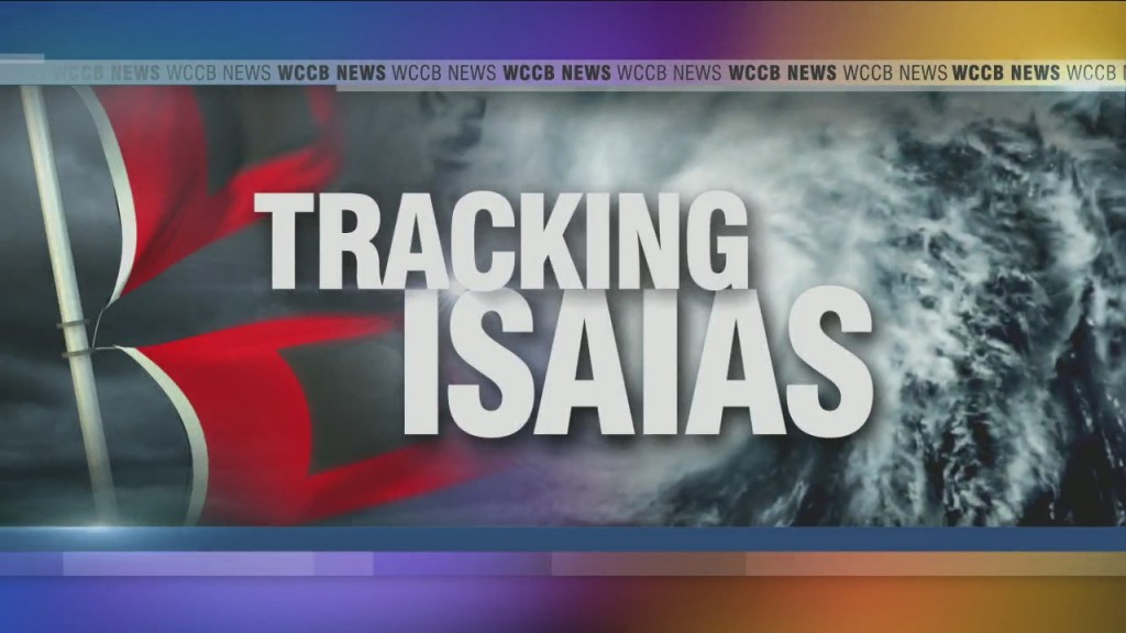 People Living Along The Carolina Coast Ready For Isaias To Make Landfall