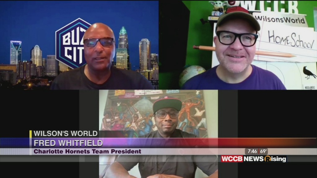 Wilson's World: Fred Whitfield, President Of The Charlotte Hornets, Talks About The Team's Week Of Service