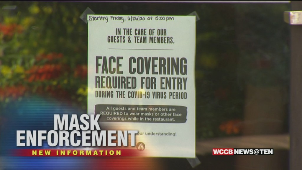 "Mecklenburg Co. Leaders To Consider ""compliance Ambassadors"" To Enforce Mask Mandate"