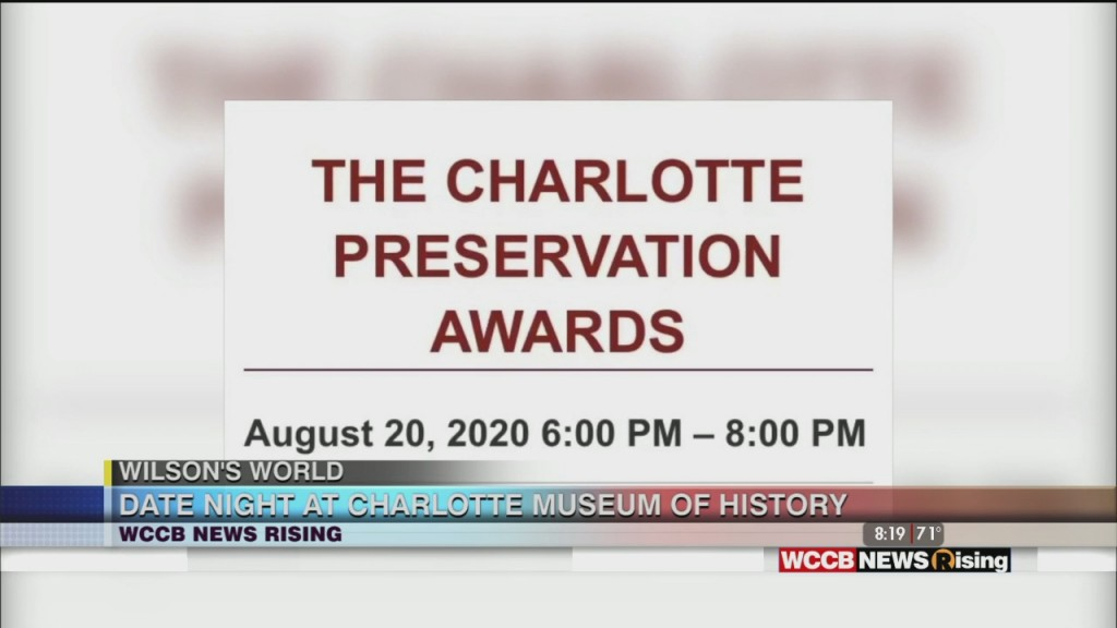 Wilson's World: Dressed Up For The Charlotte Museum Of History's Charlotte Preservtion Awards