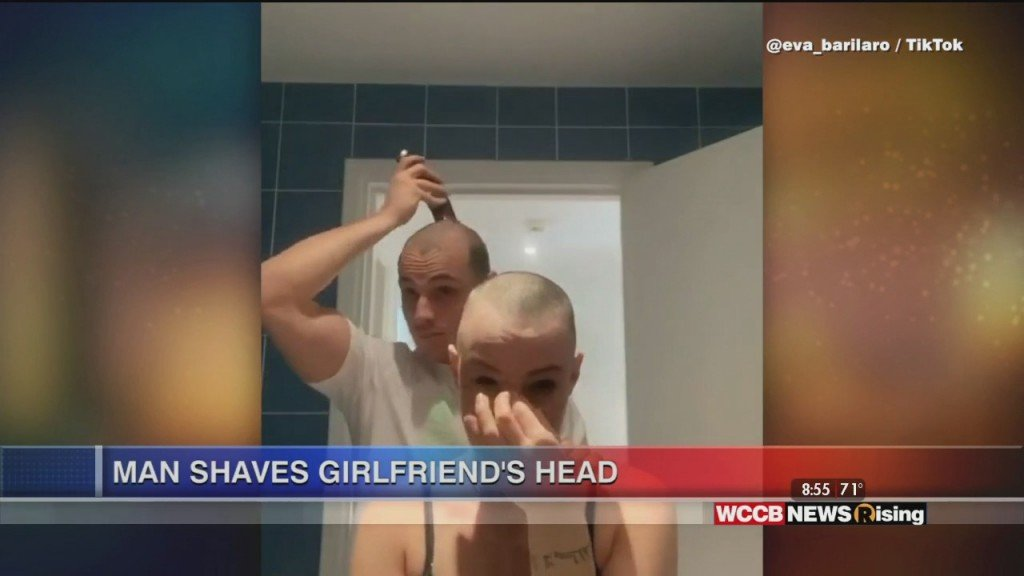 Viral Videos: Bear Takes Trash Can And Guy Shaves Girlfriend's Head In Moving Video