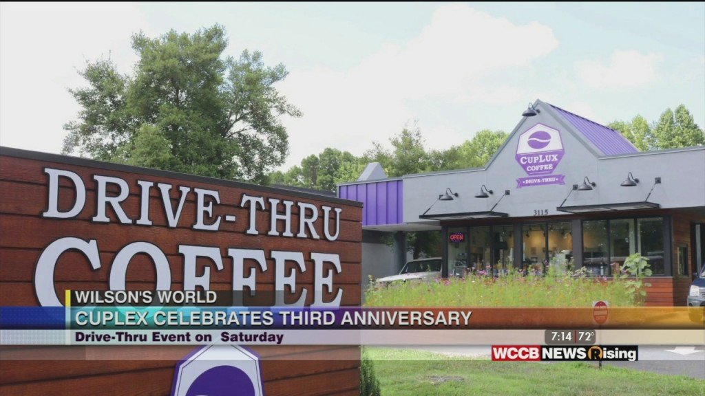 Wilson's World: Celebrating 3 Years Of Cuplux Coffee Dive Thru In West Charlotte