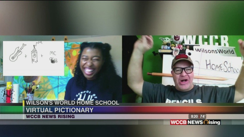 Wilson's World: Going For A Pictionary Rematch With Ebony Simpson With Holt School Of Fine Art