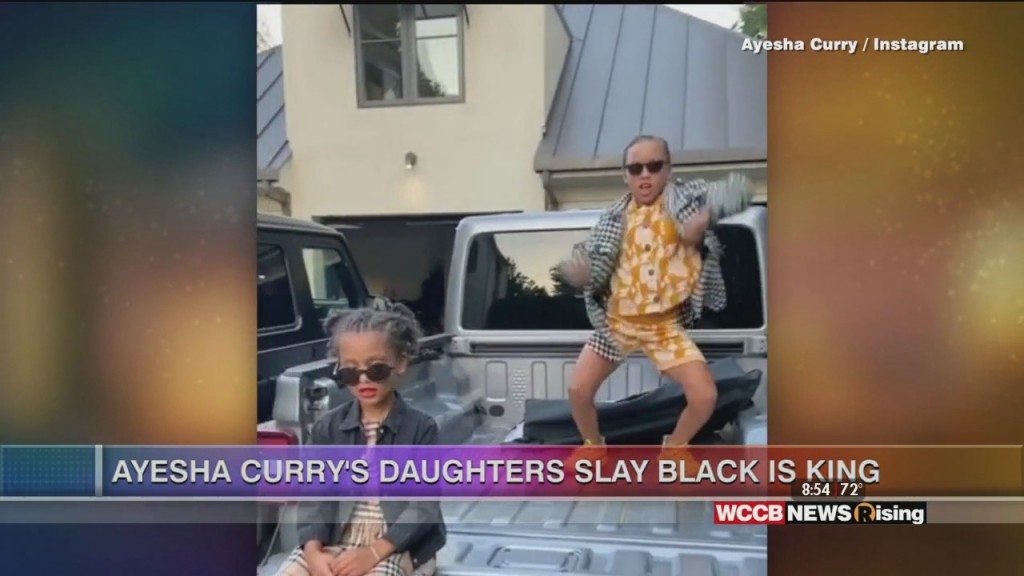 Viral Videos: Ayesha Curry's Daughters Slay Black Is King