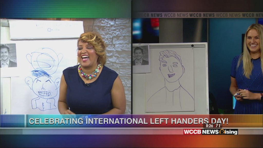 International Left Handers Day Drawing Contest