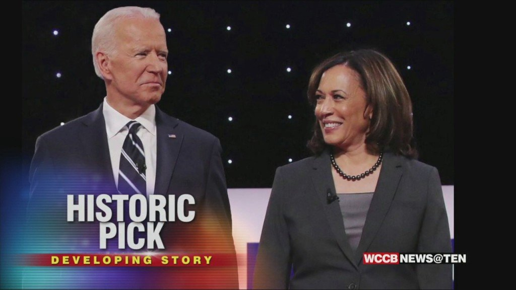Joe Biden Makes Historic Pick Of Kamala Harris For Vp Nominee