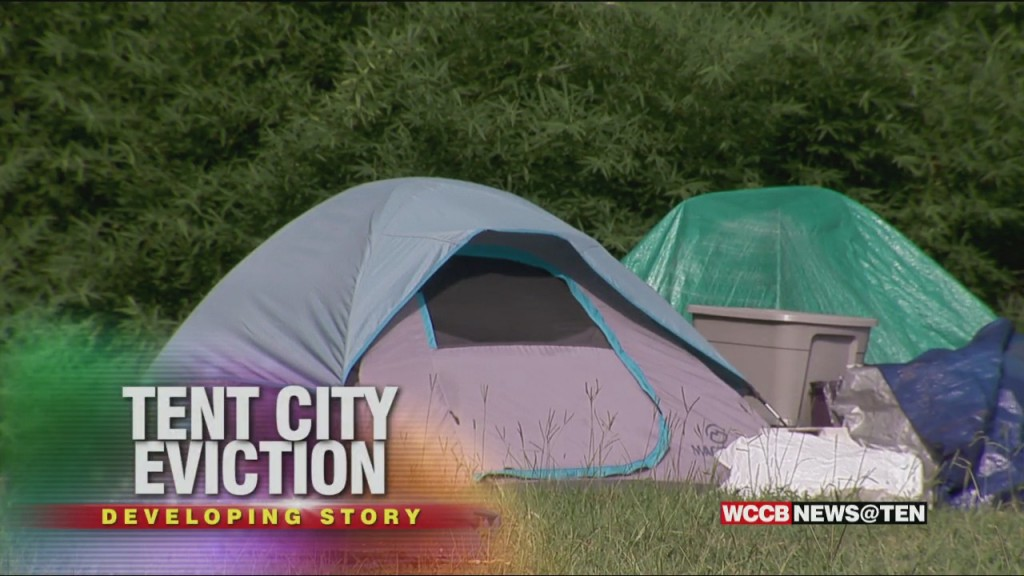 Tent City Evictions