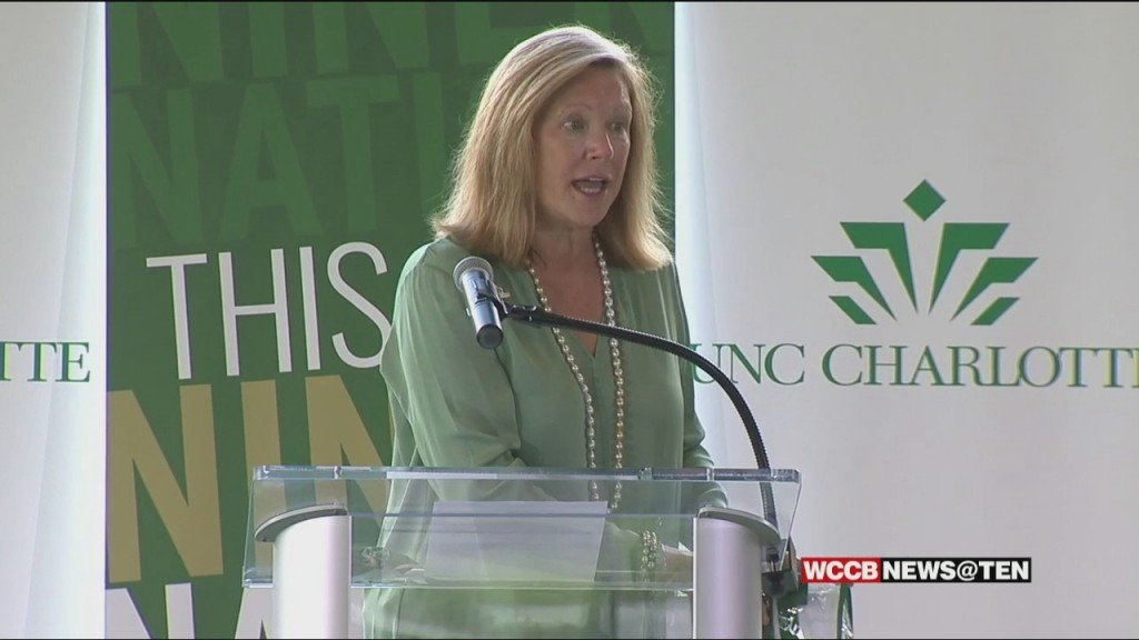 Unc Charlotte Introduces Dr. Sharon Gaber As The School's 5th Chancellor