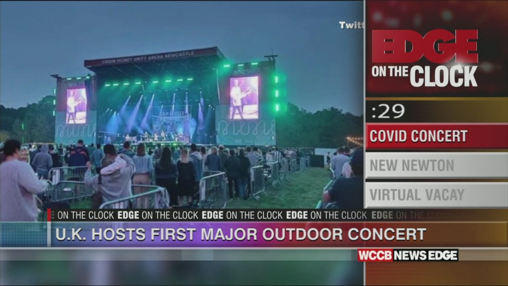 Uk Hosts First Major Concert