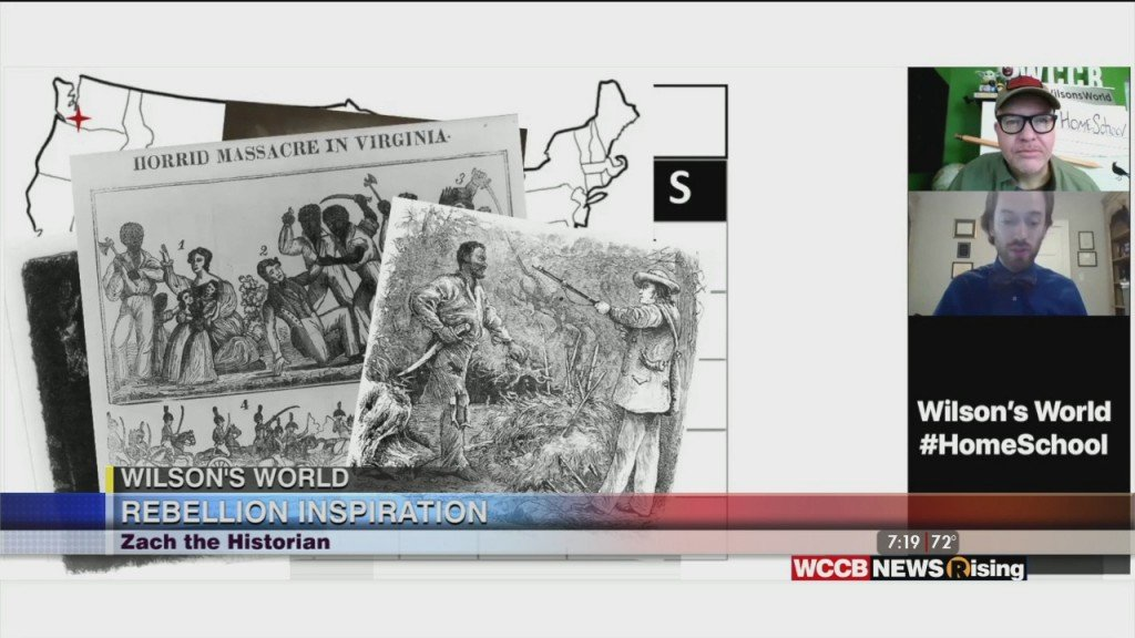 Wilson's World: Learning About An 1831 Astronimical Event That Led To Nat Turner's Rebellion