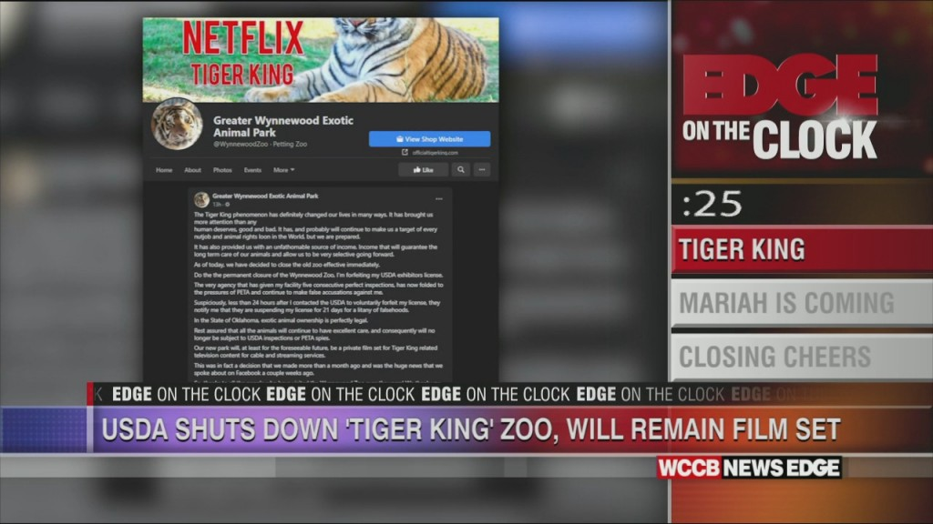 Tiger King Zoo To Be Shut Down Permanantly