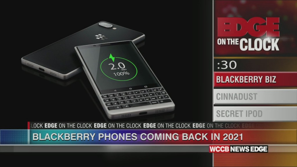 Blackberry Phones To Come Back In 2021