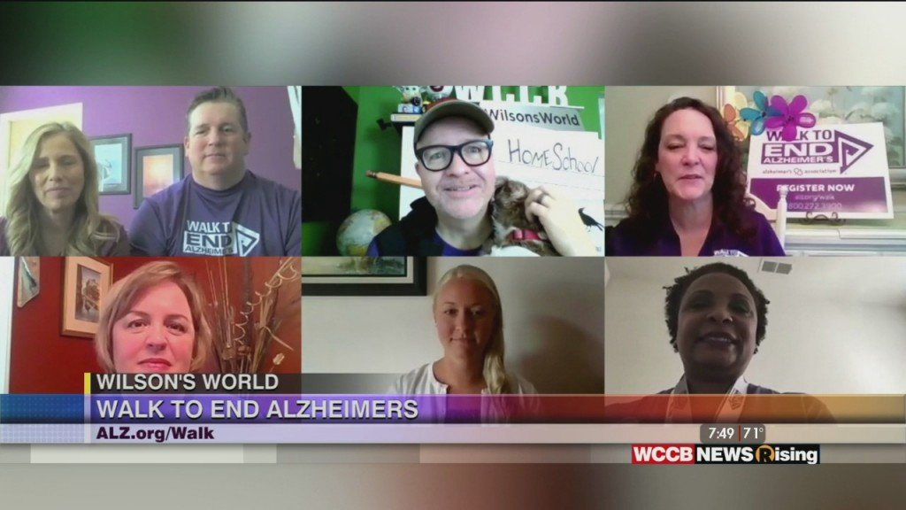 Wilson's World: Previewing The 2020 Walk To End Alzheimer's