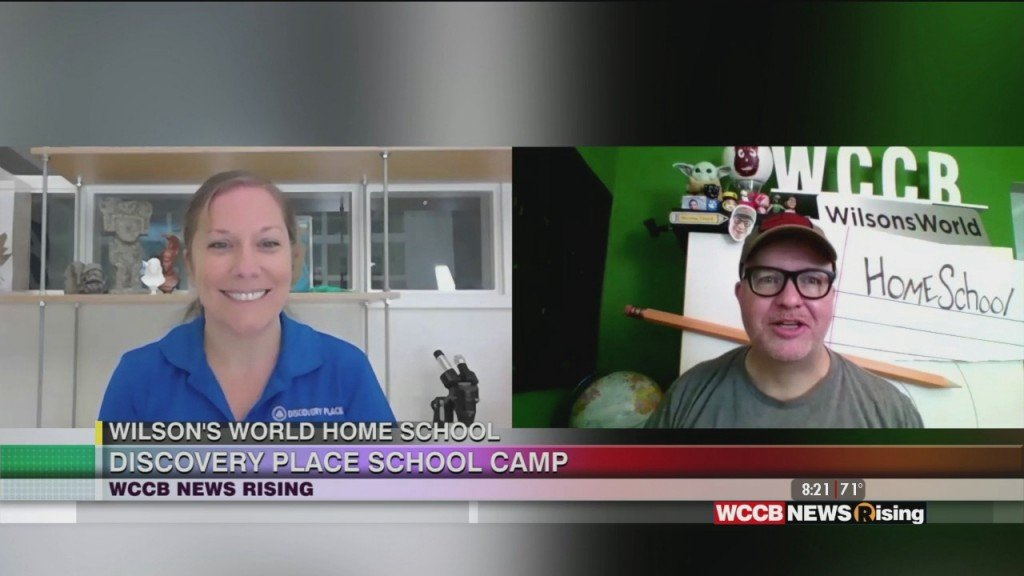 Wilson's World Homeshool: A Science Lesson At Discovery Place School Camp