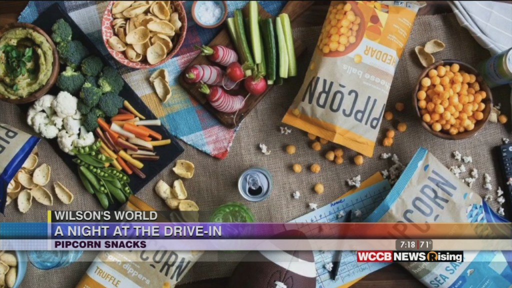 Wilson's World: Enjoying A A Night At The Drive In With Pipcorn Snacks