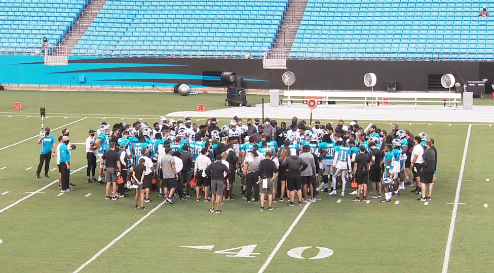 Panthers Players Want To Make Lasting Impact On Social Injustice