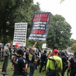 Protesters Monday August 24th 25
