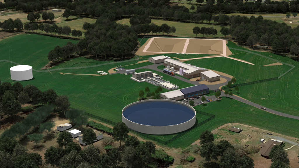 Yrwsp Finished Water Treatment Plant