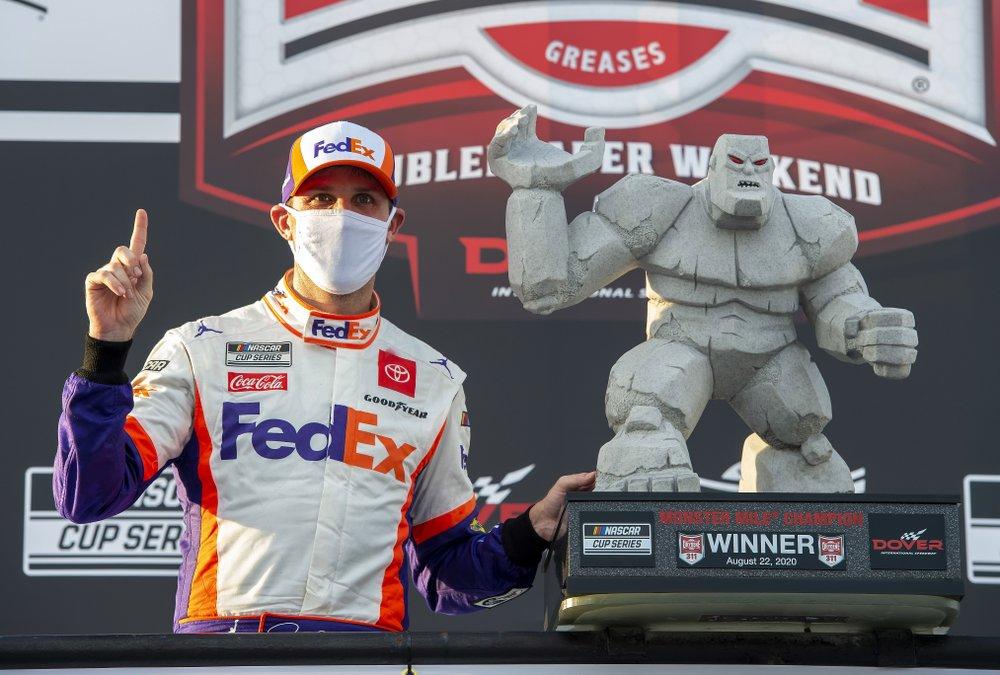 Denny Hamlin Wins Dover
