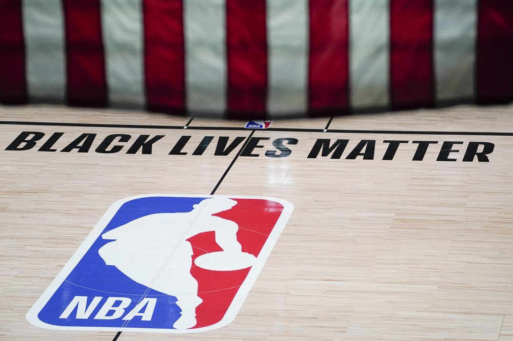 Nba Logo Black Lives Matter