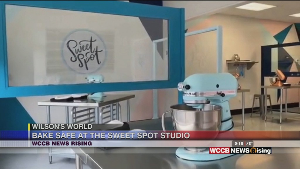 Wilson's World: Getting In A Little Baking With Sweet Spot Studio