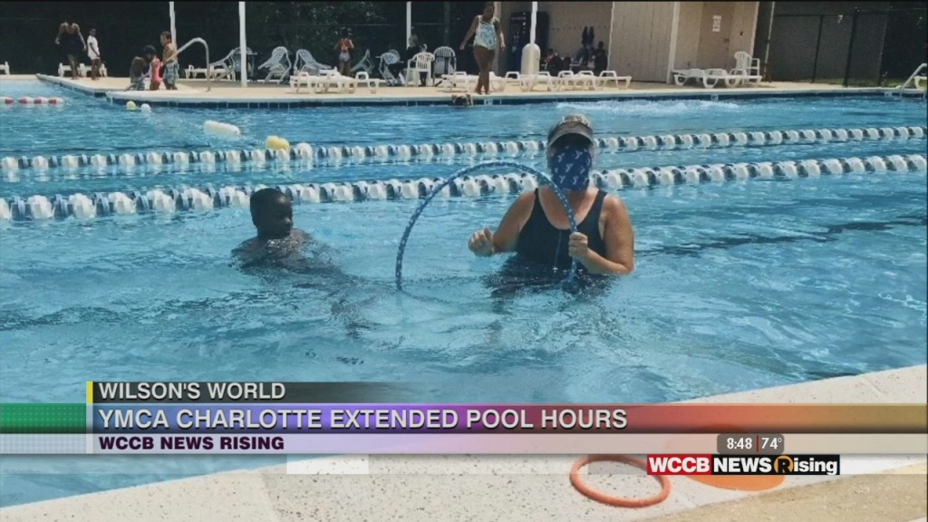 Wilson's World: Enjoying The Final Days Of Summer At The Ymca Pool