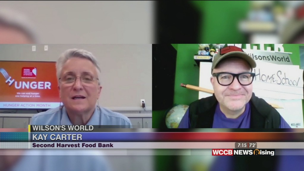 Wilson's World: Checking In With Second Harvest Food Bank Of Metrolina