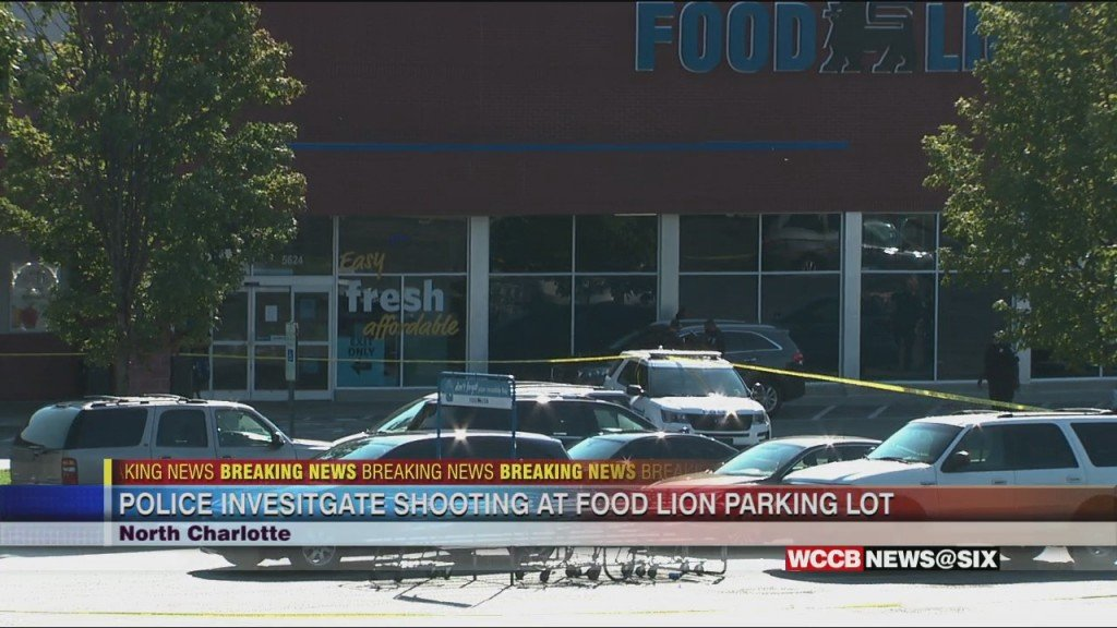 Police Investigate Shooting In Parking Lot Of A North Charlotte Grocery Store