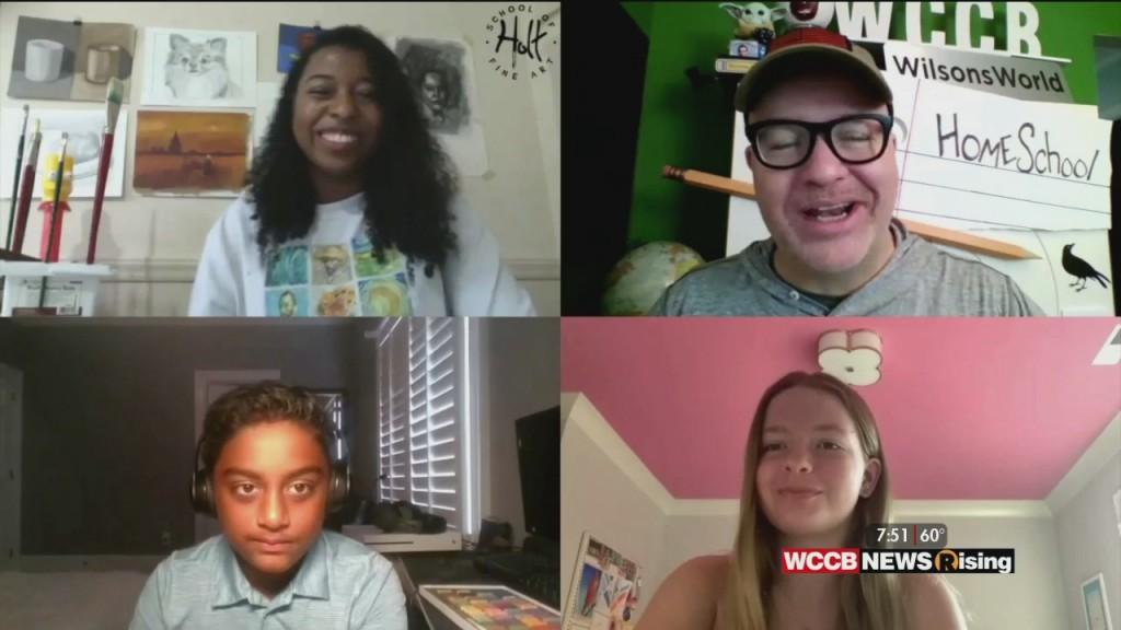 Wilson's World Homeschool: Following Up On Online Learning At Holt School Of Fine Art