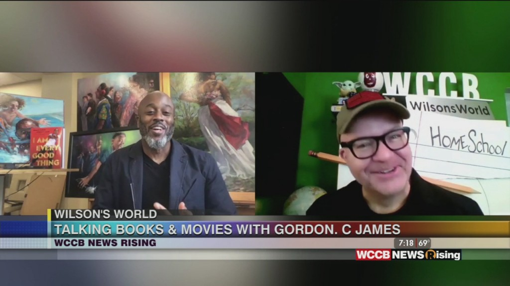 Wilson's World Homeschool: Award Winning Illustrator Gordon C. James Joins Wilson To Discuss His Current Projects