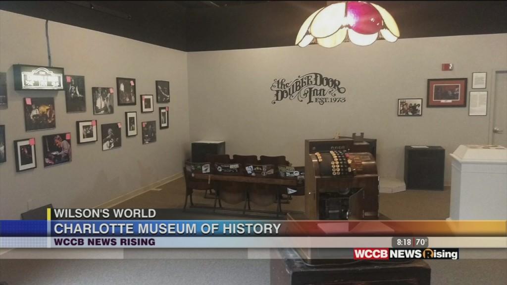 Wilson's World: Talking Charlotte Music History At The Charlotte Musuem Of History