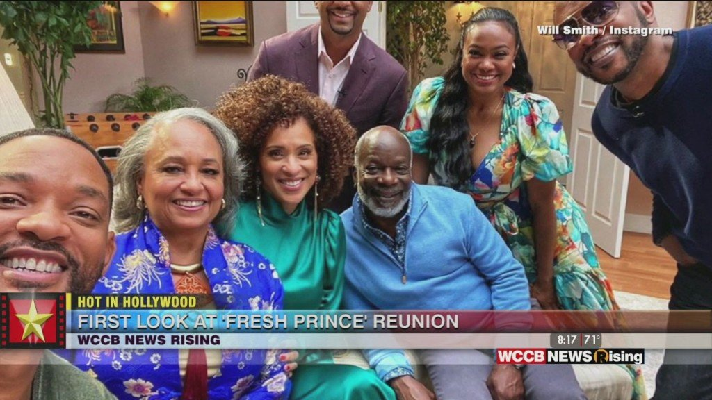 Hot In Hollywood: Pics From 'fresh Prince' Reunion And Kevin Spacey Accused Of More Sexual Assault