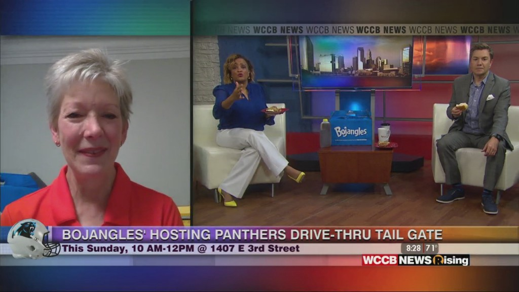 Bojangles' Hosting Drive Thru Tailgate For Panthers Home Opener
