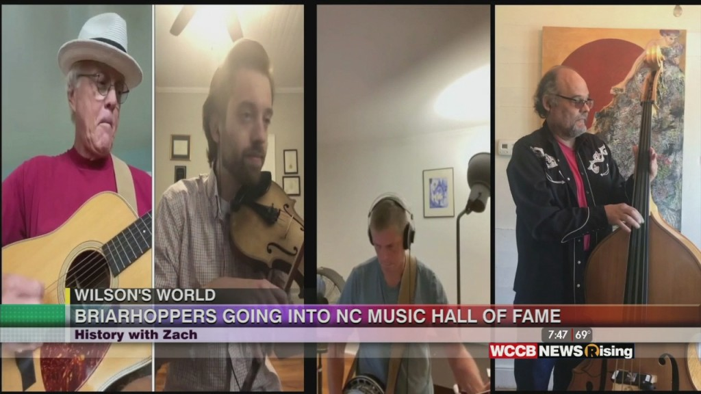 Wilson's World Homeschool: Zach The Historian Is Back With 2020 North Carolina Hall Of Fame Inductees The Briarhoppers