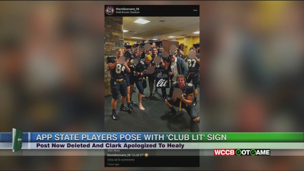 App State Football Faces Backlash For Photo Player Posted