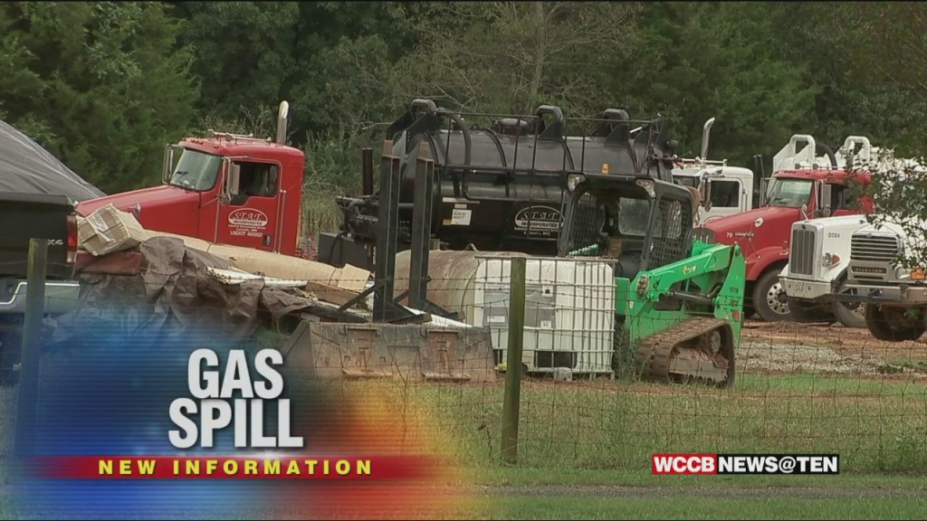 Gas Pipeline Spill In Huntersville Is Four Times Larger Than Originally Reported