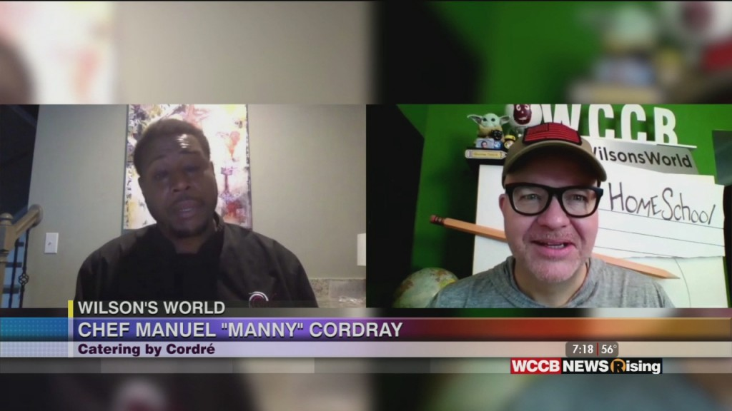 Wilson's World: Talking Food And Fun With Chef Manny Cordray