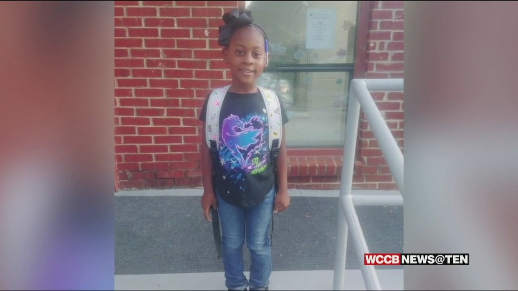 A Celebration Of Life Held For 5 Year Old Amani Barringer