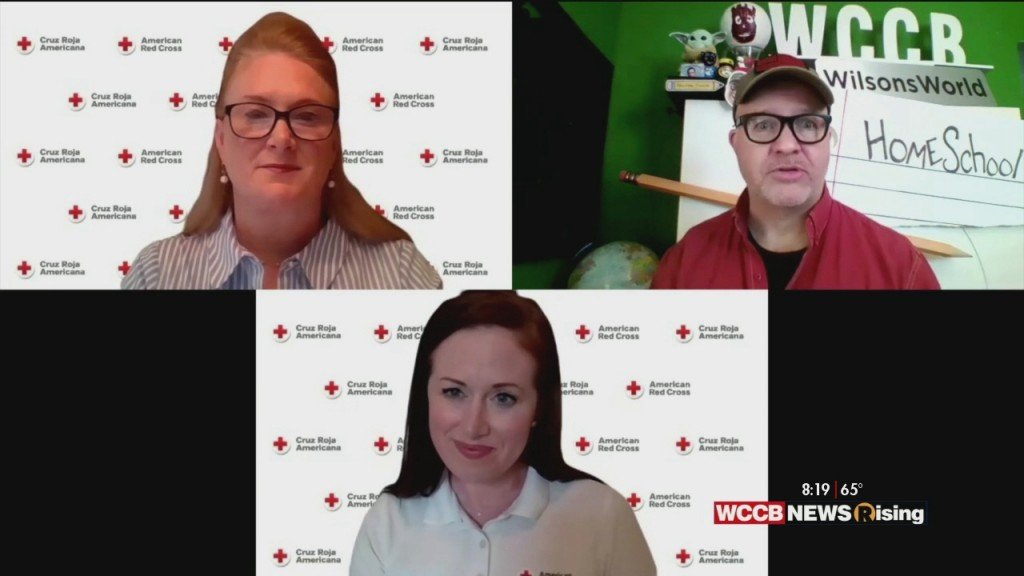 Wilson's World: Getting An Update On The Need At The American Red Cross