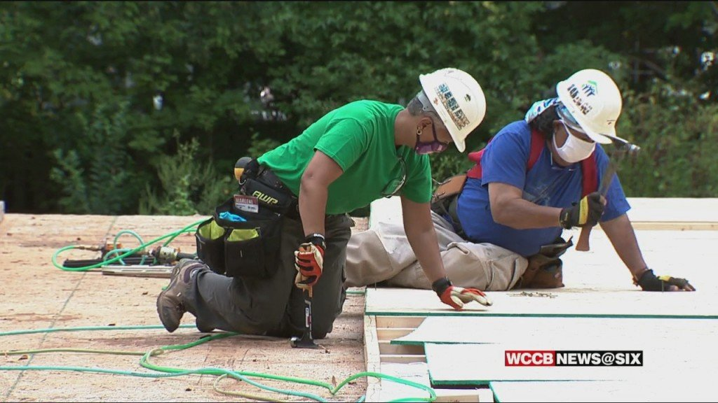 Women Build Habitat For Humanity Home In North Charlotte
