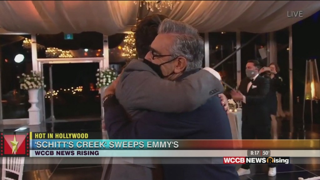 Hot In Hollywood: 'schitt's Creek' Dominates The Emmy's And Kelly Ripa Helps Homeless Students