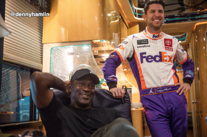 Michael Jordan To Own Nascar Team, Signs Bubba Wallace