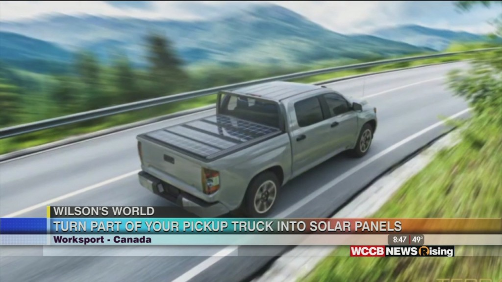 Wilson's World: Solar Power From Your Pick Up Truck