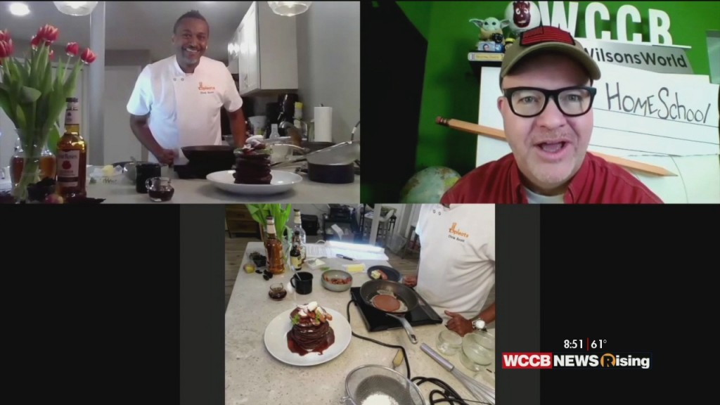 Wilson's World: Celebrating National Pancake Day With Pancake Connoisseur And Top Chef Contestant Chef Christopher Scott