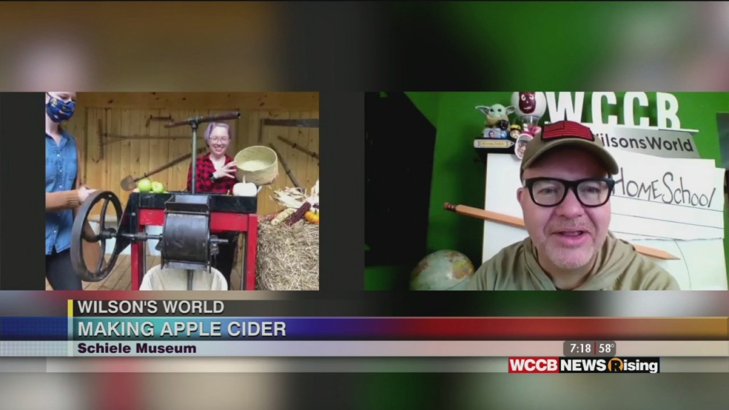 Wilson's World Homeschool: Making Apple Cider With The Schiele Museum In Gastonia