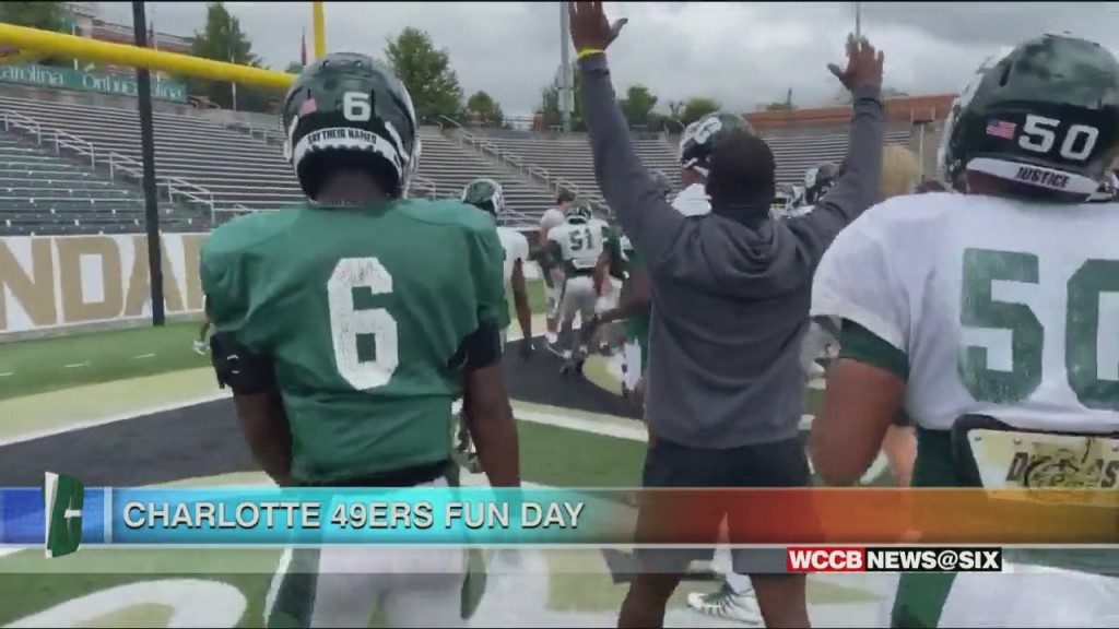 Charlotte 49ers Day Of Fun