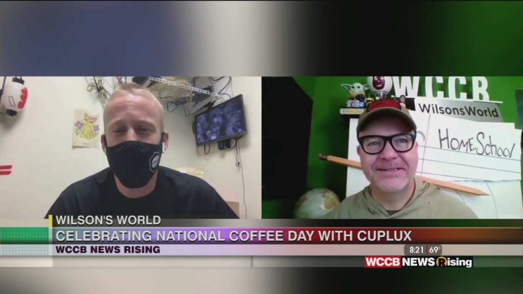 Wilson's World: Celebrating National Coffee Day With Cuplux Drive Thru Coffee
