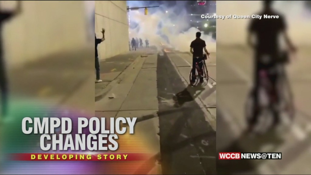 Cmpd Policy Change: The Department Will Stop Using Tear Gas & Stop No Knock Warrants